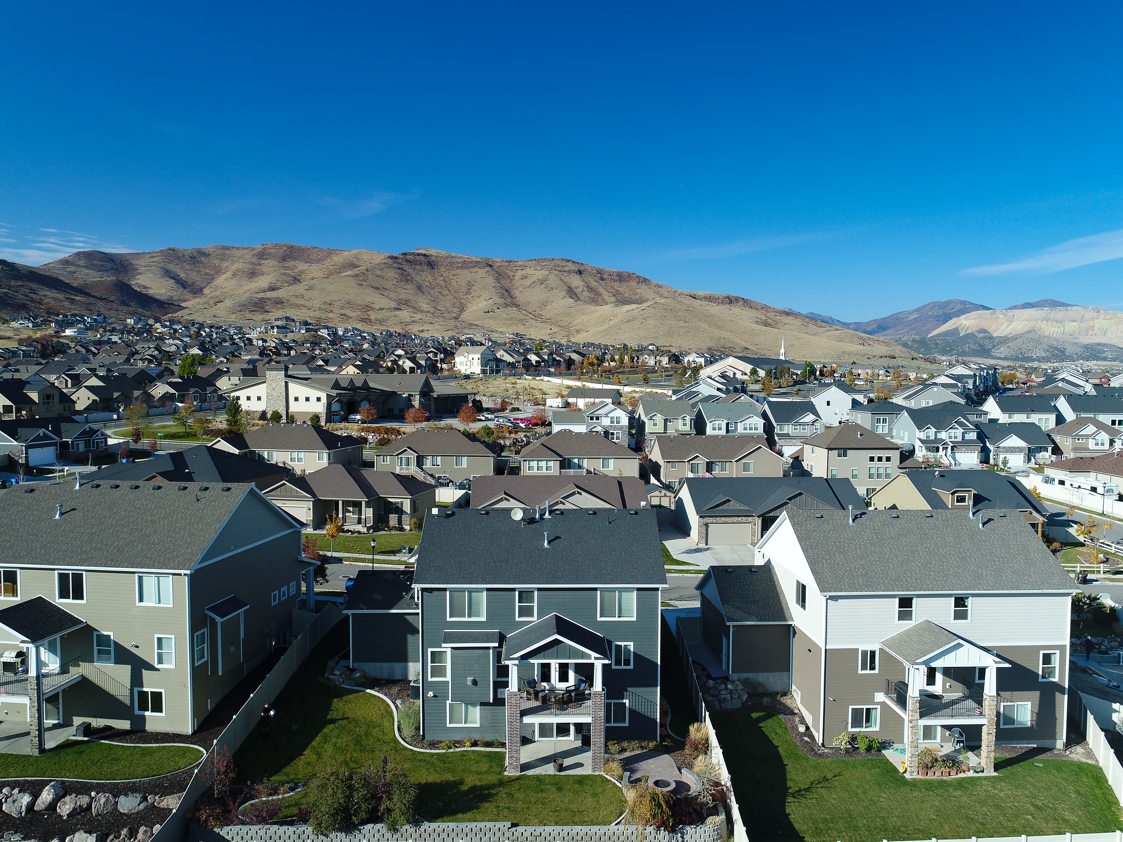 salt lake valley drone photography