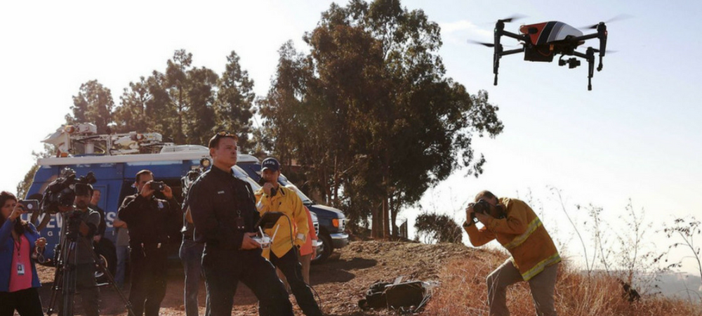 Public Safety and Fire Control Drone Training